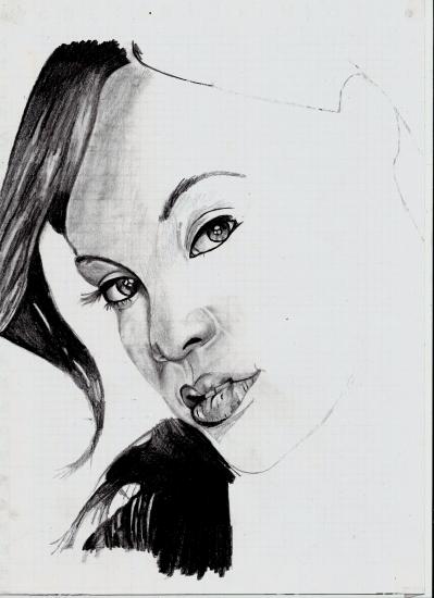 Rihanna by janine